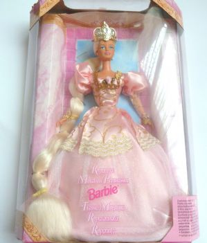 Vintage Collectable Boxed Rapunzel 1997 Fairy Tale Doll.